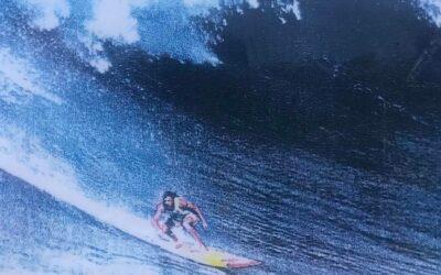 Milton Willis World Champion of Giant Wave Surfing